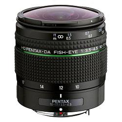 Pentax HD DA 10-17mm f/3.5-4.5 ED Fisheye