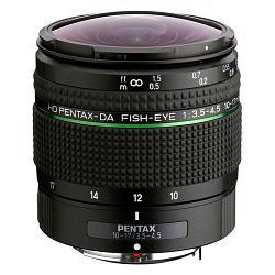 Pentax HD DA 10-17mm f/3.5-4.5 ED Fisheye