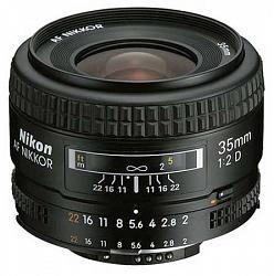 Nikon 35mm f/2D AF Nikkor