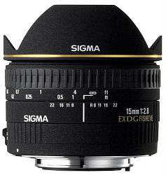 Sigma 15mm F2.8 EX DG Diagonal Fisheye