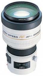 Minolta AF 200 f/2.8 HS APO G