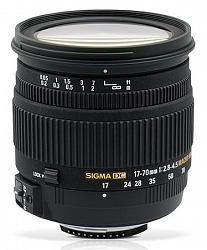 Sigma 17-70mm F2.8-4.5 DC Macro HSM