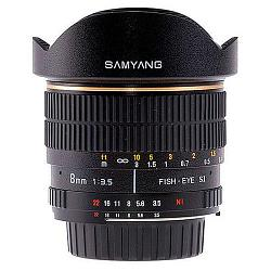Samyang 8mm f/3.5 AS IF MC Fish-eye