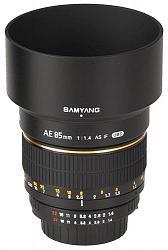 Samyang AE 85mm f/1.4 AS IF