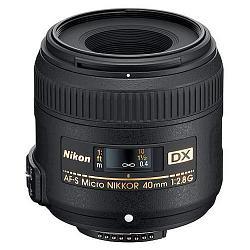 Nikon 40mm f/2.8G ED AF-S DX Micro-Nikkor