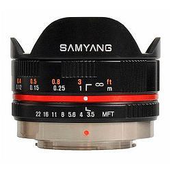 Samyang 7.5mm f/3.5 UMC Fish-eye MFT