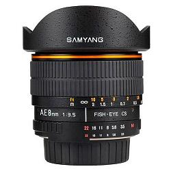 Samyang AE 8mm f/3.5 AS IF MC CS Fish-eye
