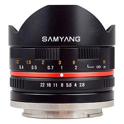 Samyang 8mm f/2.8 ED AS IF UMC Fish-eye