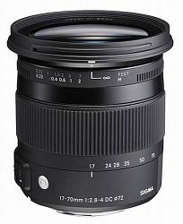 Sigma 17-70mm F2.8-4 DC Macro OS HSM (Contemporary)