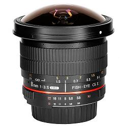 Samyang 8mm f/3.5 AS IF UMC CS II Fish-eye