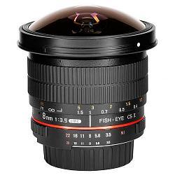 Samyang 8mm f/3.5 AS IF UMC CS II Fish-eye
