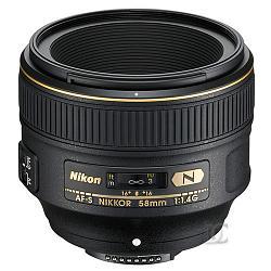 Nikon 58mm f/1.4G AF-S Nikkor