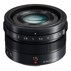 Panasonic 15mm f/1.7 ASPH Leica DG Summilux