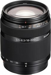 Sony DT 18-200mm f/3.5-6.3 SAL18200