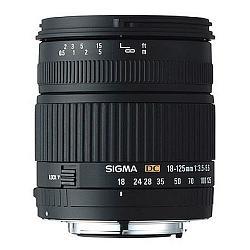 Sigma 18-125mm F3.5-5.6 DC